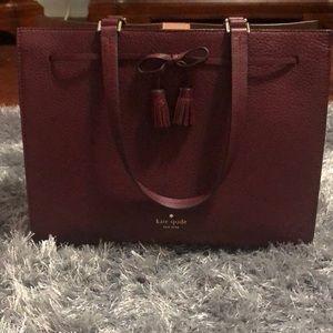 Kate spade large satchel handbag